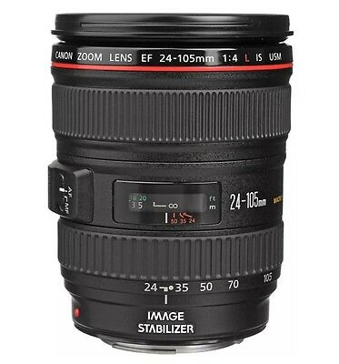Brand NEW Canon EF 24-105mm f4L IS USM Lens UK DISPATCH