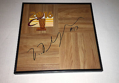 2016 NBA Champs Cleveland Cavaliers TRISTAN THOMPSON Autographed FRAMED Floor