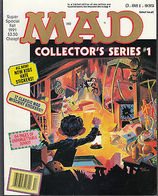 Mad -Super Special Fall 1991  #76  'new Kids Hate Stickers'  Nm-