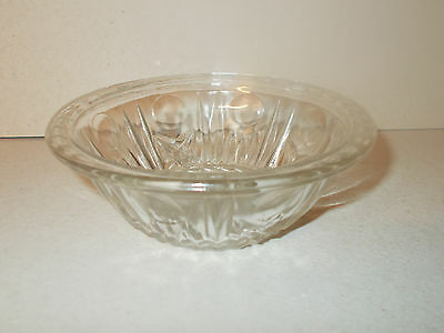 Lovely Vintage Pressed Glass Pin/Trinket dish