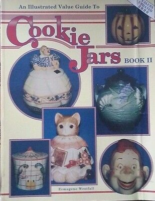 COOKIE JAR VALUE GUIDE BOOK McCOY ROBINSON MAMMY BRUSH POTTERY ABINGDON