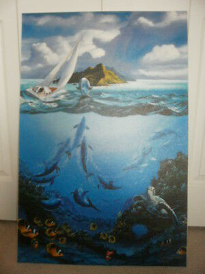 Passage To Paradise - Robert Lyn Nelson - Limited Ed-Hand Signed And Numbered
