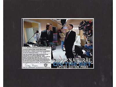 Supernatural Limited Edition Behind The Scenes Photo Prop Autograph Fan