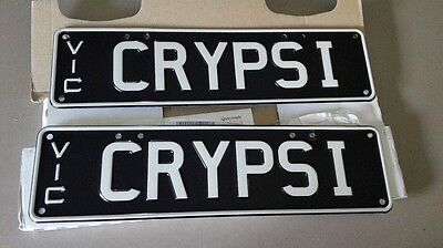 vic number plates CRY-PSI