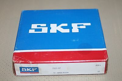 SKF 212-2Z Shielded Deep Groove Bearing - NEW condition