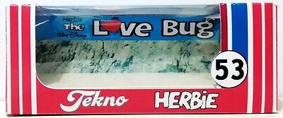 HERBIE Love Bug 53 VW Repro TEKNO Window BOX for Diecast 1:64 Volks Wagen Car