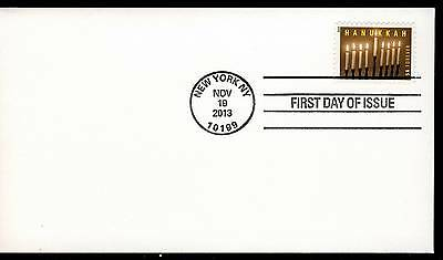 US 2013 . Hanukkah (4824) First Day Cover . Uncacheted