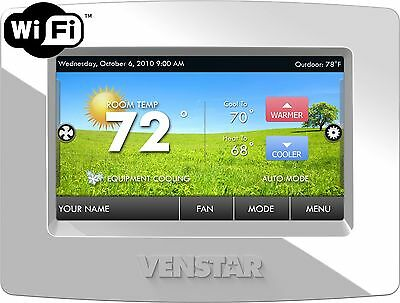 Venstar T7900 Thermostat Brand New WiFi Built In Free App Control Away From Home