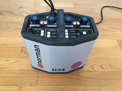 Norman D24 Digital Power Supply for Photo Flash Unit