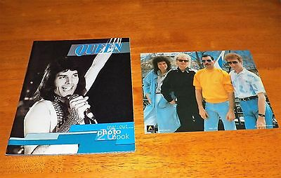 QUEEN/FREDDIE MERCURY - Tear Out Photo Book & Group Picture