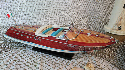 Riva Ariston Handcrafted Wooden Model Boat