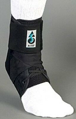 NEW ASO Ankle Stabilizing Orthosis, With Plastic Stays - Black, XL, 264036
