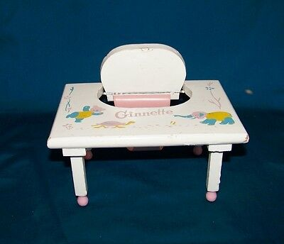 1950's Vogue Ginnette Table High Chair