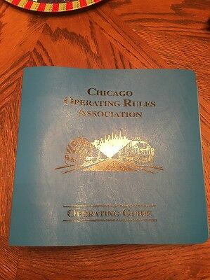 Chicago Operating Rules Association (CORA) Operating Guide Transportation Up Cp