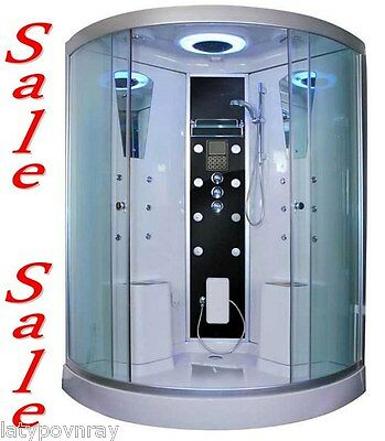XL Two Person Steam Shower Room.Bluetooth Audio.6 Year US Warranty. DISPLAY SALE