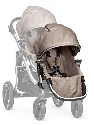 Baby Jogger Second Seat Kit in Quartz City Select  5 Point Safety Harness New