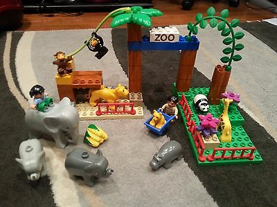 Duplo Lego Zoo - 53 pieces lots of animals included