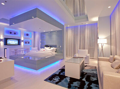 BEDROOM Furniture Lighting KIT Under Bed King Queen Full - Accent Light IDEAS A