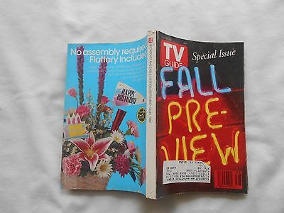 Tv Guide Special Issue- Fall Preview-September 18,1993-Central Penna. Edition