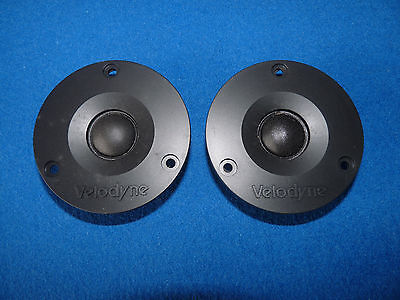 Velodyne Tweeter. Compact Design and Clear Sound. One Pair.