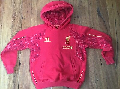 Gc Liverpool Warrior Soccer Football Hoodie Jumper Youth Size M Eur 134