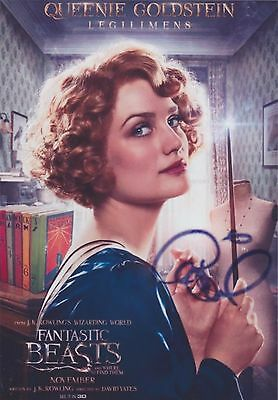 Fantastic Beasts and Where to Find Them (2016)  Alison Sudol SIGNED RP 8X10 WOW!