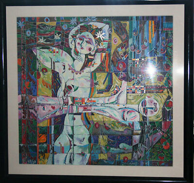 "Ji Cheng ""Fortune""  Retail $4,995 Only $700 Limited Ed. Serigraph"