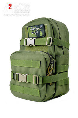 A-TWO | mini map SMALL HYDRATION CARRIER BACKPACK || OLIVE GREEN