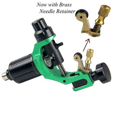 HummingBird Pro Liner Shader Tattoo Rotary Swiss Motor Gun Machine Alloy GREEN