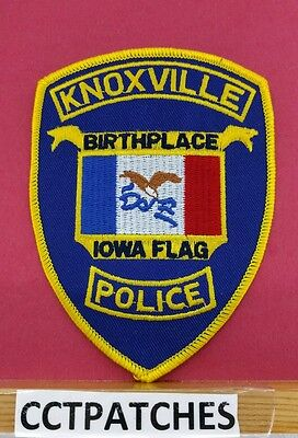 Knoxville, Iowa Police Shoulder Patch Ia