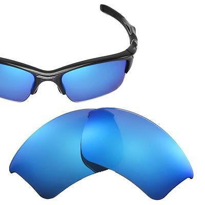 New Cofery Polarized Ice Blue Replacement Lenses for Oakley Half Jacket 2.0 XL