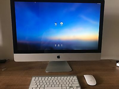 Apple iMac 27-inch mid 2011 - 3.1 GHz i5, 8GB RAM, 1 TB HDD PICK UP ONLY
