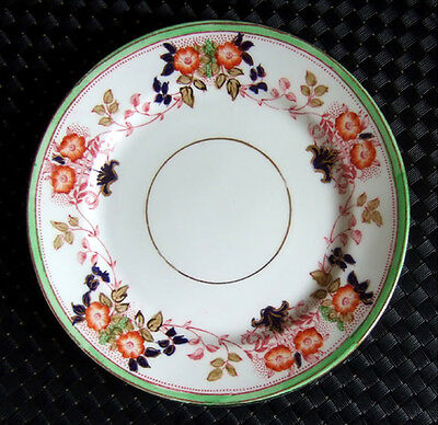 EARLY 1900s SUTHERLAND CHINA SIDE PLATE - GREEN BORDER