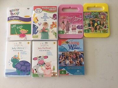 Baby Einstein & Brainy baby & Others Learning DVD's