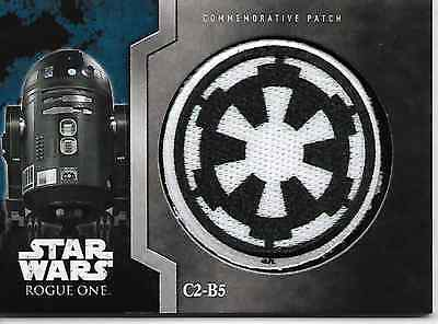 2016 Star Wars Rogue One C2-B2 Patch