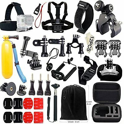 Iextreme Gopro Essential Accessories Bundle Kit 45-in-1 Accessories Set for Hero