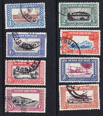 Anglo Egyptian 1950 Airmails Complete set - Fine Used