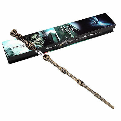Harry Potter Dumbledore Magic Wand in Gift Box Replica Costume Cosplay Xmas Gift