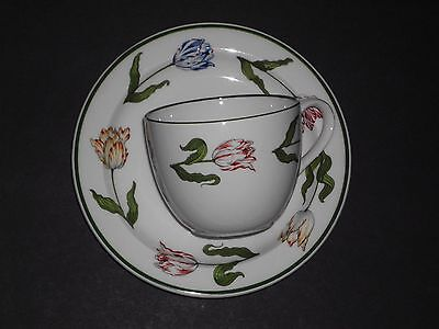 Tiffany & Company Tulips Cup And Saucer New