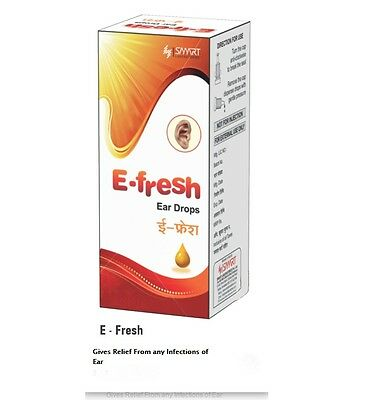 Smart Efresh Ear Drops Gives Relief From any Infections of Ear Free Shipping