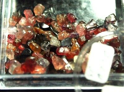 SPINEL,MULTI-COLOR,FACET ROUGH, 76.56ct,3-7mm,SP-A77B,natural earth crystal born