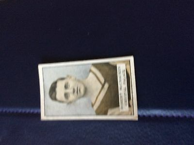 65-2 Cigarette Card Gallaher Famous footballers no 50 McCracken crystal palace