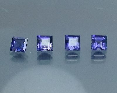 1.45Cts Natural Iolite Gems (Free Shipping Additional 10 Items )(5436)