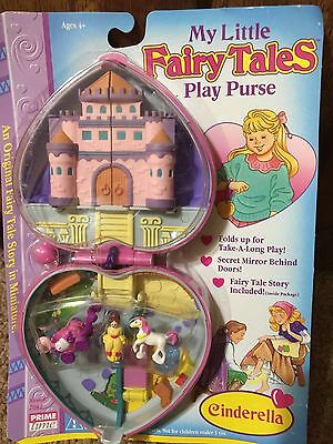 My Little Fairy Tales Play Purse Cinderella New In Package Vintage