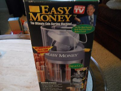 Easy Money Coin Sorting Machine---New In Box