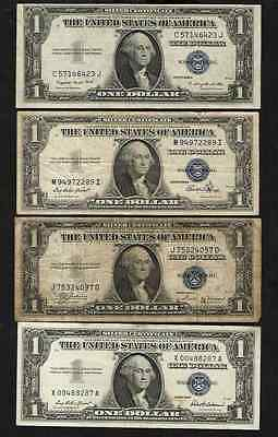 U.S.A  LOT OF  11 BANKNOTES # 7s-25