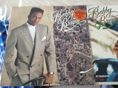 2X Bobby Brown records Near mint condition