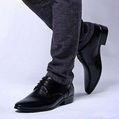 Men's Leather Shoes Euro.US Style Dress Formal Oxfords Business Casual Loafers