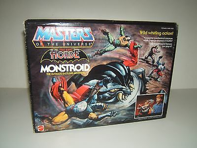Masters Of The Universe  ☆The Evil Horde Monstroid ☆ New Sealed  Rare Mattel