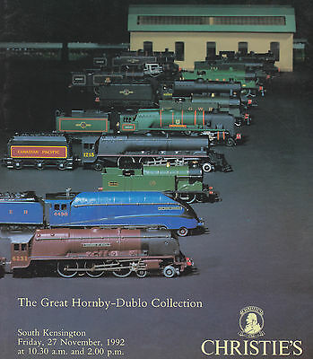The Great Hornby-Dublo Collection Model Railways Auction Catalogue